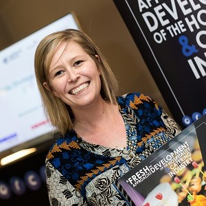 Sarah King: Speaking at the Restaurant Tech Live, London ExCeL 2016